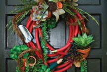 wreaths / by Terri Lovvorn