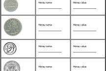 2nd grade math money / by Ashley Bauman
