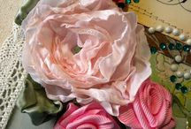 Ribbon & Fabric Flower Tutorials / ~ Beautiful handmade flowers and bows to create ~ / by Dinah Roberts