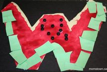 Letter W: watermelon / by Izzie, Mac and Me