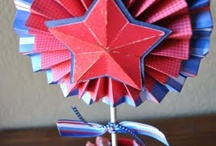 Patriotic Craft Ideas and Activities / Patriotic Crafts, DIY and activities for families.  Fourth of July, Independence Day, Memorial Day and all things red, white and blue. / by Kiddie Academy