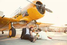 Airplane Hangar Wedding / Kelly & Curtis - Real Wedding / by LVL Weddings