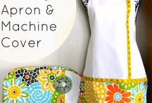 Let's Sew - Aprons! / Yes, I have an apron addiction!  / by Rue
