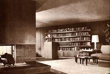 """Mid Century Modern home / We're living in a 1953 """"atomic ranch"""" beauty, gotta start planning our renovation... For some great MCM furniture, see my board """"furnishing"""" / by laura lyon"""