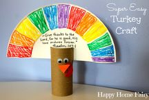 Thanksgiving Craft / by Cindy Martin