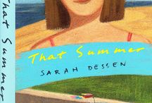 That Summer / My first novel, published 1996. How it all began! Man, I was young.  / by sarahdessen