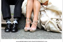 Shoes / The Bride's shoes and Bridesmaid shoes on the wedding day. / by Robyn Rachel Photography