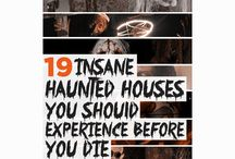 "Haunted House Halloween / by Jenn ""KissMyWax"" , Indep. Scentsy Star Director"