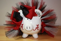Alabama / ROLL TIDE ROLL / by Kathleen Brown