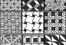 ZentangleART & Doodle ART 101 / Love to doodle?  Then you'll love to tangle too.  Just let your inspiration run wild.  Try a new tangle every day-combine them for inspiring art!  I was hooked immediately! / by Lisa Hall