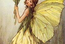 Flower Faeries....(Mammaw's book) / by Anna Marie Penix