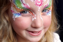Girl Face Painting Ideas / Face Paint Ideas for Girls / by Curly Connection