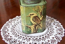 Vintage tins / by Tricia