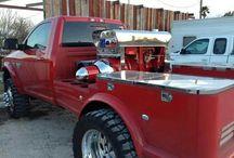 Welding trucks / Kick ass custom welding rigs and some sick welding too! / by Randy Johnson