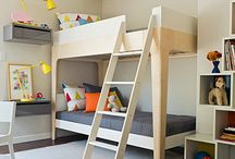 Shared spaces-kids room / by Jill Brady