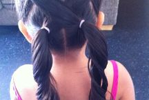 Lil cute hairstyles for lil girls / by Gracie Dove