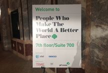 """TIME Magazine Event: """"People Who Make The World A Better Place"""" / Brought to you by: Time, Good Corps, and Girl Scouts / by Girl Scouts"""