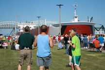 Engineers Weekend Last Friday in June / The last Friday in June kicks off two days of Freighters and fun in Sault Ste. Marie / by VisitTheSault