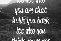 quotes / by Trish Kuhl Martin