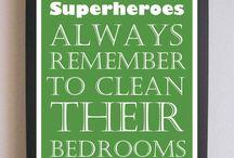 Boys Superhero Bedroom / by Allie Phillips