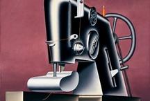 Artists: Konrad Klapheck / Works of Konrad Klapheck, German illustrator / by Kwalitisme