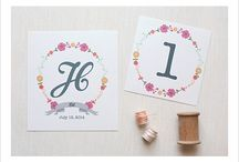 Printables / Cute printables to add inspiration and decor to your home or wedding. / by Rebecca Kelsey