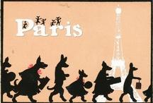 Paris silhouettes / by Carol Gillott