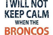 Broncos / by Celissa A