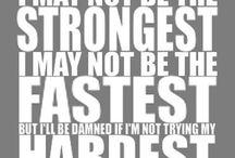 Workin On My Fitness! / by Dana Cross