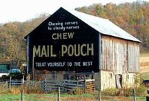 Barns - Mail Pouch / by Theda Weatherly