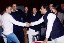 Salman donates Rs 25 lakh to medical college, Under fire for Saifai jig / by Current Newsof India