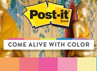 Color Collections - Bangkok / A range of Asian influences add up to one spicy mix. Explore the Post-it® Brand Bangkok Color Collection. / by Post-it® Brand