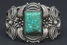 Turquoise n silver / by Jennifer Martinsons