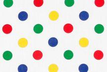 Rainbow Polka Dots / by Jodie