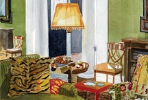 Interiors in Art / by A Moveable Feast