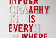 Typography / by Jonny Ross