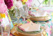 Pretty Table Tops / by Kristi Legere Poplin
