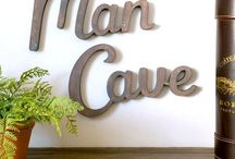 man cave / by . simmons