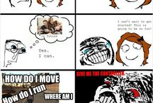 Funny Rage Comics / by OMG Facts