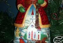 My Jim Shore Santas / by Ronald Miles