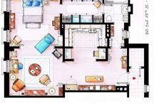 Floor Plans / by Judy Wilson