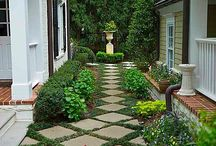 Gardens and outdoor ideas / by Angie Dentz