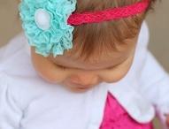 Baby Girl Bows & Frill / Cutesy stuff for my baby girl! / by Meagan Bardinelli