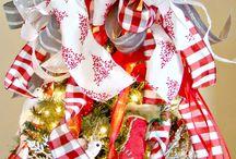 Christmas tree decorating / by Michelle Lecker-Saravanja