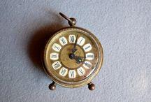 Antique Miniature Alarm Clock / by tienda etsy
