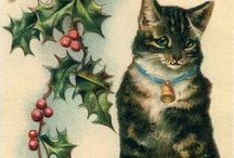 Vintage Christmas cards / by Lakota