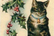 Vintage Christmas cards / by Lakota