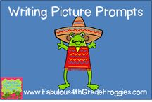 Writing Picture Prompts / Great photographs (with and without prompts) to use in Writing / by Fabulous 4th Grade Froggies