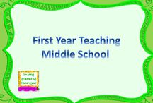 First Year Teacher- Middle School  / This board is to help new teachers who are teaching Middle School.  / by Elizabeth McGovern