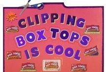 box tops / by Karen Brownell